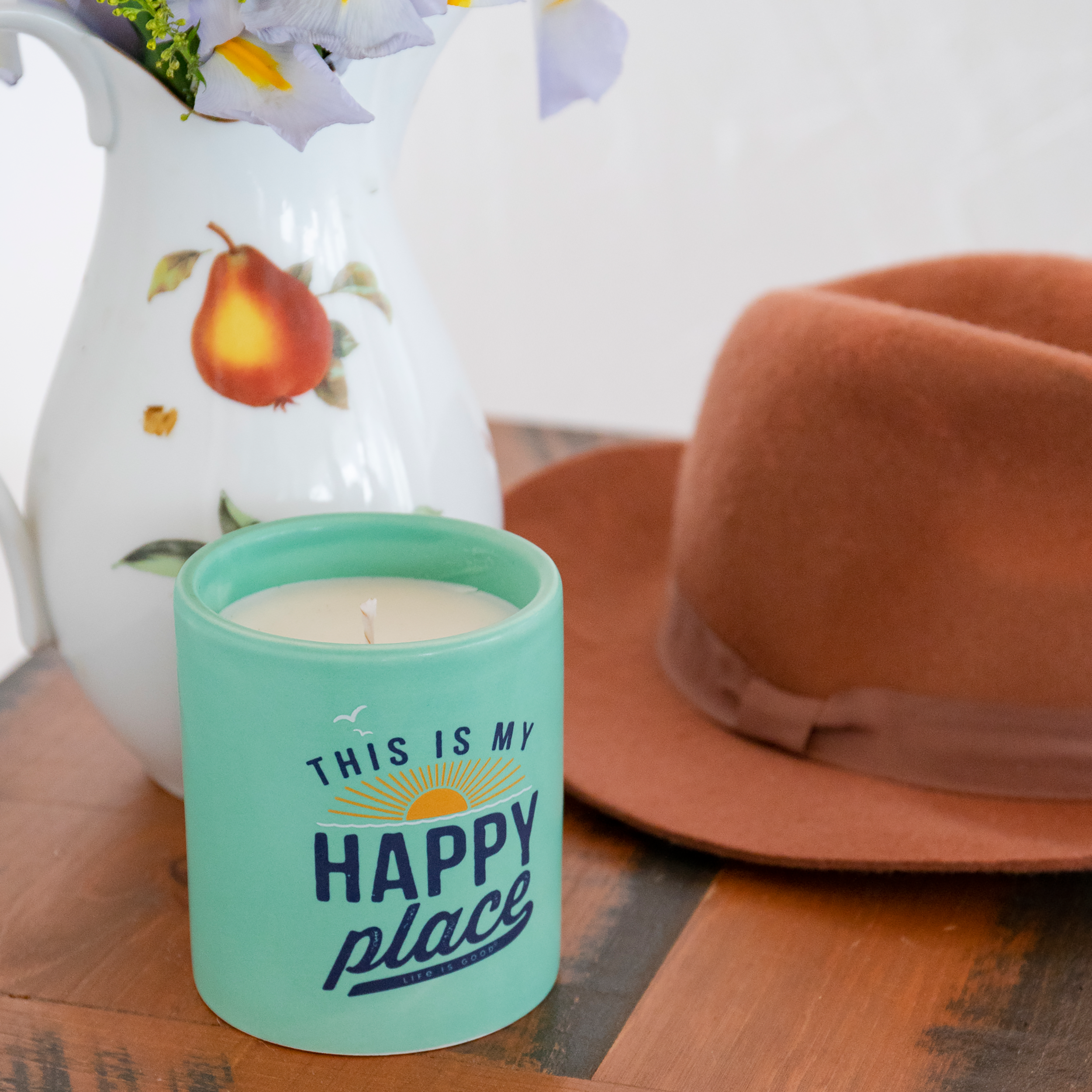 life is good mug - this is my happy place