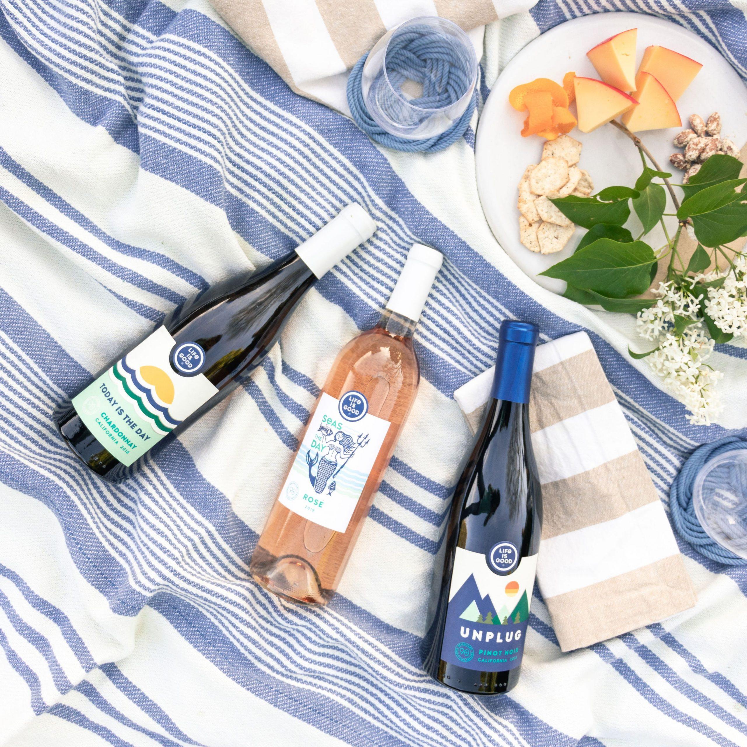Life is Good wine varieties